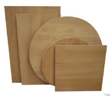 Solid Beech Table Top 120cm X 76cm
